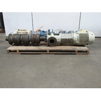 Gould vit-ct 15 Hp Vertical 2 Stage Turbine Pump 300Gpm 116' TDH 460V