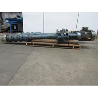 Gould VIT-CF 20 Hp Vertical 3 Stage Turbine Pump 300Gpm 164' Head 460V