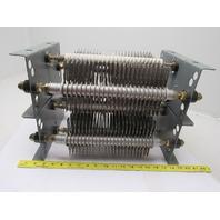 Square D Class 6715 TW37E_TW21E TabWeld Plate Resistor 2.83 & 8.75 Ohms 37 &21 A