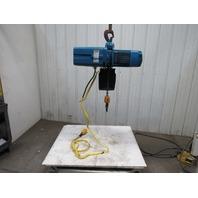 Demag DKUN-10-1000K-V2F4 Electric Hoist 2200lb 27' Lift Fast 2 Speed 460V 50FPM