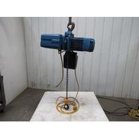 Demag DKUN-10-1000K-V2F4 Electric Hoist 2200lb 28' Lift Fast 2 Speed 460V 50FPM