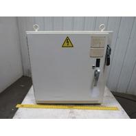 "32x32x16"" Electrical Enclosure Box W/Allen Bradley 30A Fused Disconnect"