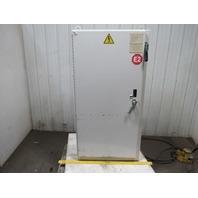 "62x32x16"" Electrical Enclosure Box W/Allen Bradley 30A Fused Disconnect"