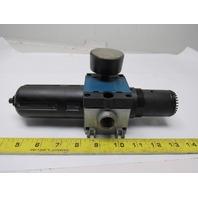 "Rexroth C15i Pneumatic Air Filter Regulator 10 Bar MAX 1/2"" NPT"