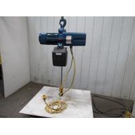 Demag DKUN-10-1000K V2F4 Electric Chain Hoist 2200lb 26' Lift 460V 2 Speed 50FPM