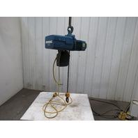 Demag DKUN 10-1000K V2F4 Electric Chain Hoist 2200lb 17' Lift 460V 2 Speed 50FPM
