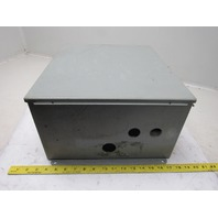 Hoffman A16148CH 16x14x8 Steel Electrical Enclosure Wall Mount W/Back Plate