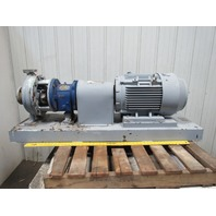 Griswold M/ 2x7/8-13/1300/DSTM/CS 25Hp 3550RPM 230/460V Centrifugal Pump