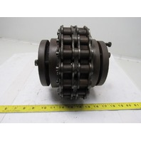 "R-1 Tapered 2-3/8"" & 2-7/16"" Bushing Bore  # 100 Roller Chain Drive Coupling"