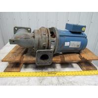 "Bell & Gossett E50 Series 614B 7-1/2Hp 3485RPM 575V 4""x2-1/2"" Flange Pump 230GPM"