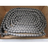 """Tsubaki RS60 Single Strand Riveted Roller Chain With D3 Attach. 16"""" Apart 24'"""