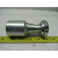 "Eaton 43016U-D20 4000PSI Code 62 Flange R12 Straight Hose Fitting 1"" ID Hose"
