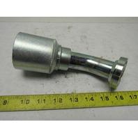 "Eaton 43020U-D50 1-1/4""-20 Hose Size Code 62 Split Flange 45° Fitting"