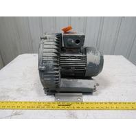 Siemens ELMO-G-2BH1-500-1AK22 Regenerative Vacuum Blower 208-230/416-480V 1.55KW