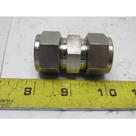 Parker 12SC12 A-lok Stainless Steel Tube To Tube Union Connector 3/4""