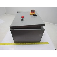 "FMX CMSNR-015HP-MP 30A 15Hp Motor Starter/Control 480V 3R Enclosure 12""x16""x8"""