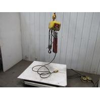 Robbins & Myers 2 Ton 4000 # 8FPM Lift 13.6' Travel 230/460V Hoist