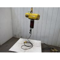 Robbins & Myers 2 Ton 15' Travel 16FPM Lift 230/460V 1Hp Chain Hoist