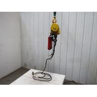 Robbins & Myers 2 Ton 12' Lift 16FPM 1Hp Chain Lifting Hoist