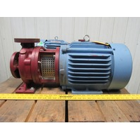 American Marsh 1.25x2-7 Centrifugal End Suction Pump 7-1/2Hp 208-230/460V 3Ph