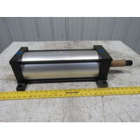 """Milwaukee Pneumatic Air Cylinder 6"""" Bore 14"""" Stroke 250 PSI Extended Rod"""