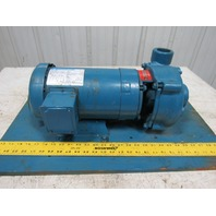 "Burks T33OCA6-1/2.500 1-1/2x2x5"" 3Ph 208-460V 50/60Hz Centrifugal Pump"