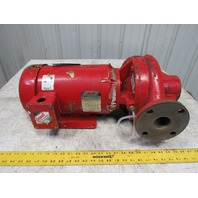 "Patterson Baldor 2C7AVIL 3Hp 1760RPM 208-230/460V 118GPM 2""x2"" Vert Inline Pump"