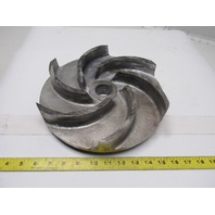 "Mission 2x3R 11-1/4"" Centrifugal Pump Replacement Impeller  1-1/2"" ID Bore"