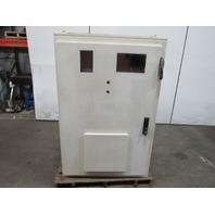 "Klassen JIC Electrical Enclosure Cabinet 59x39x20"" W/30A Disconnect & Back Plate"