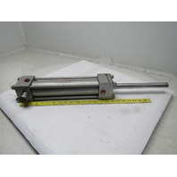 """Milwaukee H71-D Pneumatic Air Cylinder 2.5"""" Bore 10"""" Stroke Double Rod"""