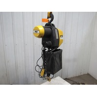 P & H Redi-Lift 1 Ton Electric Chain Hoist 2000 lb 23' Lift 460V