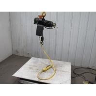 P & H 1/2 Ton Electric Chain Hoist 1000 lb 12' Lift 460V W/7' Pendant