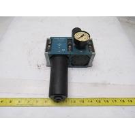 "Rexroth 5351430200_5351230060 12 Bar Filter Regulator 1/2"" NPT"