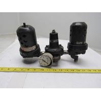 "Watts F602-04BJ M5 Combo Filter Regulator Lubricator FRL 1/2"" Ports"