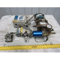 Trabon 163-310-000 Modu-Flo 115V Monitored Programmable Lubrication Pump Package