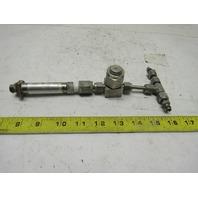 "Ashcroft K17M024H213000 1/4""SS Compression Tube Inline Filter Pressure Transduce"
