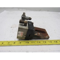 """Compact Air Products SG202 Square Base Angular Pneumatic Gripper Grabber 2"""" Open"""