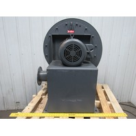 New York Blower 2106 ALUM Pressure Blower 3500 RPM 7.5 HP 208-230/460V 3 Ph CCW