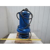 "Tsurumi GPN3-100 Agitator Dewatering Submersible Pump 5-1/2"" 422GPM 400V 50Hz"
