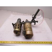 "Norgren Inline Filter Regulator Pulse Mist Lubricator 1/4"" Ports"