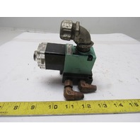Numatics 11SAD400O030 150PSI 110-120V 50/60Hz Solenoid Manifold Assembly