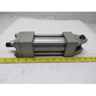 "Milwaukee H-61 2"" Bore 3-1/4"" Stroke 1"" Rod Clevis Mount Hydraulic Cylinder"