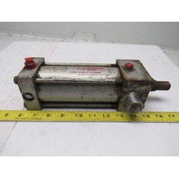 "Milwaukee 121-71-24S-2 2-1/2"" Bore 4-1/2"" Stroke 1"" Rod 250PSI Air Cylinder"