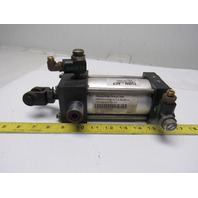 """Turn Act 2-1/2"""" Bore 3"""" Stroke 5/8"""" Rod Trunnion Air Cylinder"""