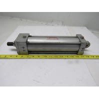 """Milwaukee A-62 Pneumatic Air Tie Rod Cylinder 2-1/2"""" Bore 8"""" Stroke Rod Clevis"""