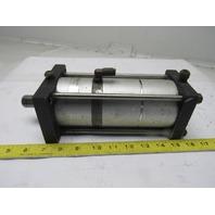 "Fabco Air 3-1/2"" Bore 2-1/4"" Stroke  3/4"" Hexagon Rod Air Cylinder"