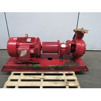 Peerless Pump 8196-MTR 4X6-10 60Hp End Suction 800GPM TDH 75' 230/460V 3PH