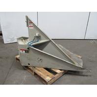 """EMI 29-950 2000lb Cap. Pneumatic Air 60° Tilt Table 44""""x44"""""""