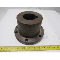 """2.5"""" Finished Bore Steel Split Taper Bushing 7-1/4"""" OD 4.5"""" Wide"""