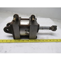 """4"""" Bore 1"""" Stroke Clevis Mount Extended Rod Cylinder"""